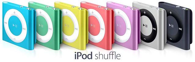 Ipod Shuffle - 5Th Generation (2012)