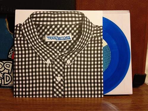 "Tranzmitors - Concrete Depression 7"" - Blue Vinyl (/150) by Tim PopKid"