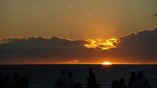 Image of Playa de Maspalomas near Playa del Ingles. ocean sunset sea sky sun beach grancanaria spain laspalmas meloneras d80