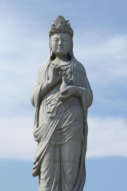 Statue at Naksansa