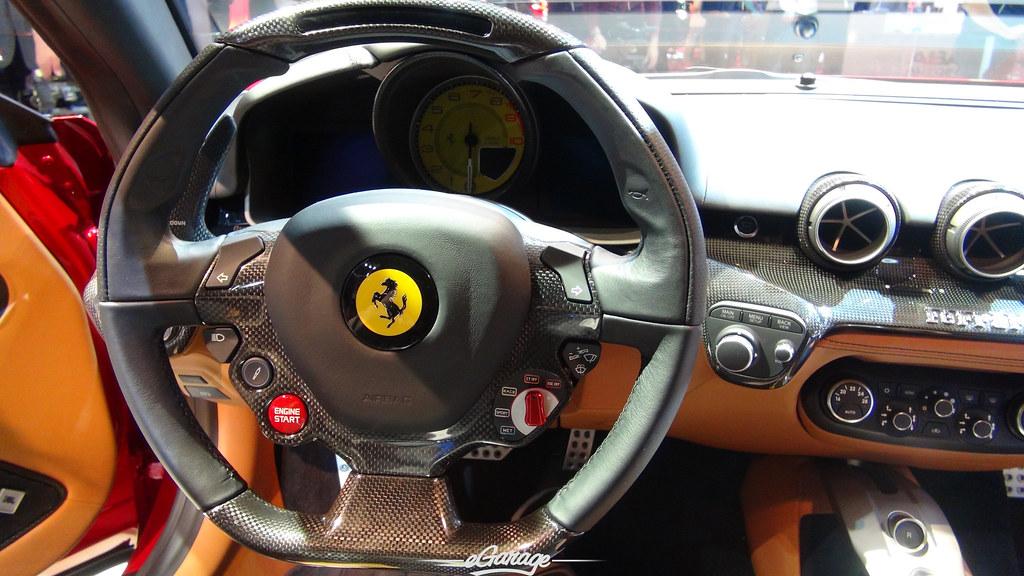 8034746392 6650d222fe b eGarage Paris Motor Show Ferrari FF interior