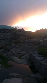 Sunset over Temppeliaukio Church, Helsinki, #OKFest