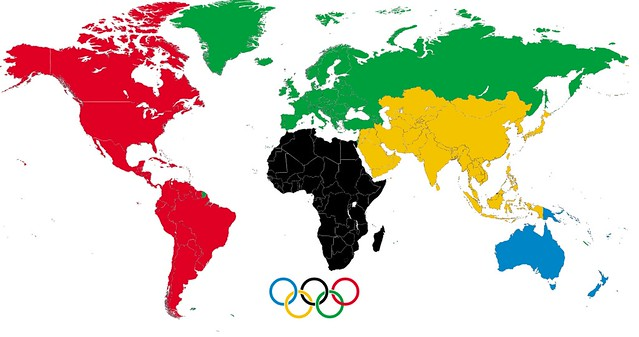 Meaning  Colors Olympic Rings