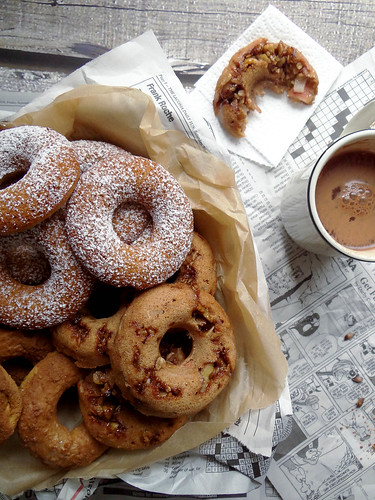 baked donuts // fall classics 3 ways