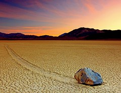 Sailing Stone Dawn - Death Valley