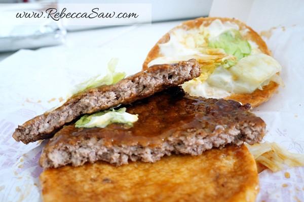 McDonald's Beef Samurai Burger, Sakura McFizz & Katsu Curry - Malaysia. Pork Samurai Burger - Thailand.-004