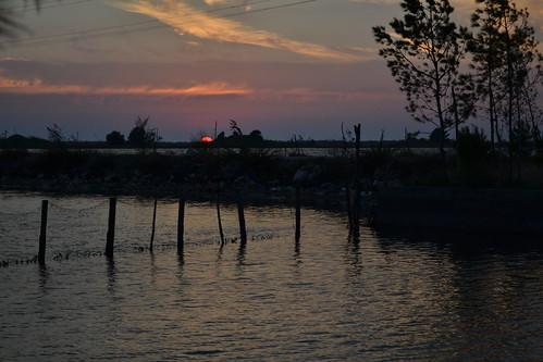 sunset summer water evening albania patok lagoonofpatok lagunaepatokut