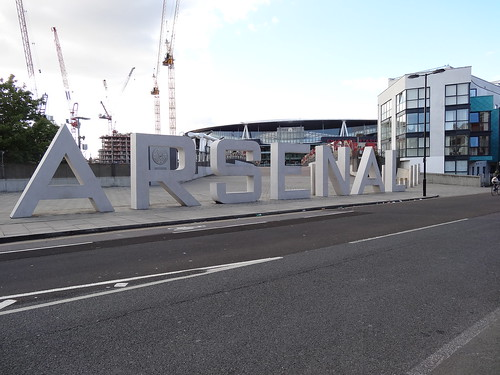Arsenal Sign at Emirates Stadium