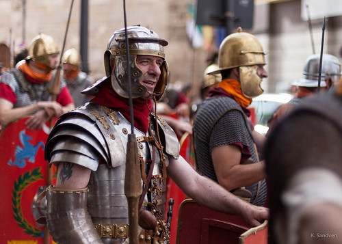 The Romans are here
