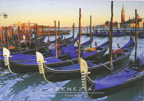 Gondola Boats in Italy