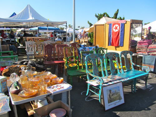 Lions Club flea market in Malibu