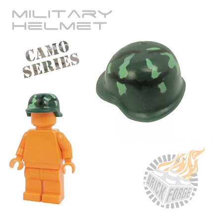Military Helmet - Dark Green (camouflage)