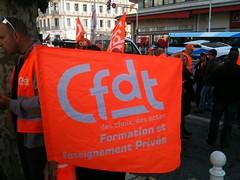 Drapeau Fep-CFDT