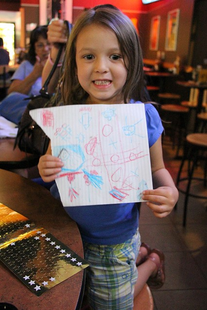 25. Lorelai and her drawing