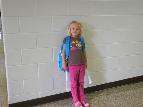 Aug 22 2012 First Day of School Shanna
