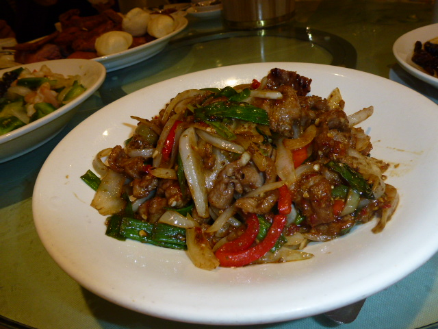 Stir Fry Spicy Lamb