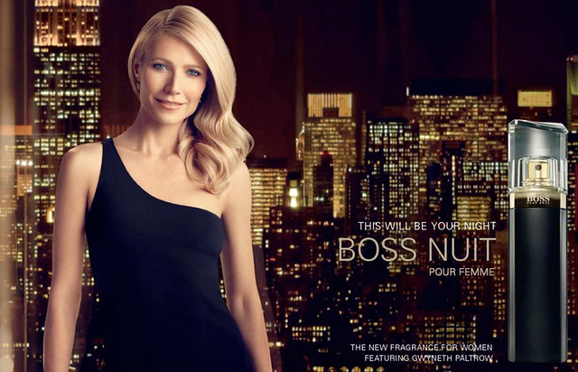 Gwyneth Paltrow for Hugo Boss Nuit Pour Femme