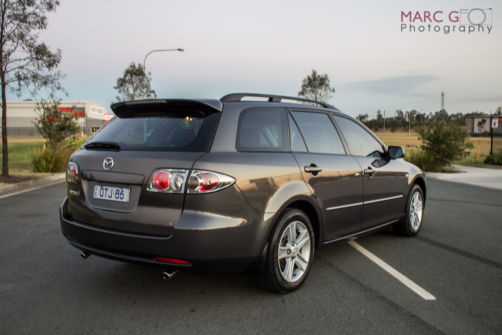 hello from australia 2006 gy mazda 6 wagon mazda 6. Black Bedroom Furniture Sets. Home Design Ideas