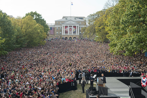 Barack Obama in Madison, WI - October 3rd