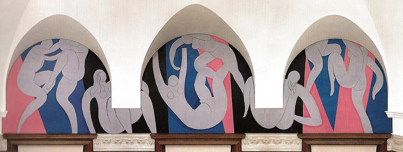 Henri Matisse - The Dance, 1933 at Barnes Foundation Philadelphia PA