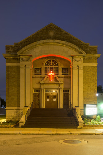 Temple Beth David, 1924