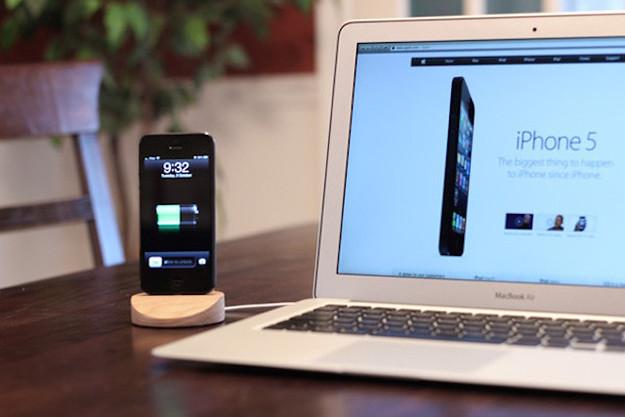 The Lightning Dock para el iPhone 5