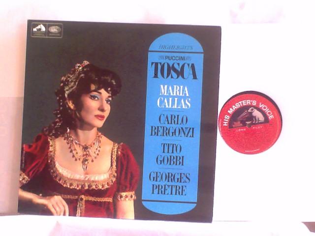 Photo:EMI ASD 2300 Maria Callas, Carlo Bergonzi, Tito Gobbi, Georges Pretre Puccini: Tosca By amadeusrecord