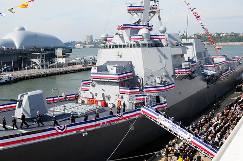 Navy Commissions USS Michael Murphy in Big Apple