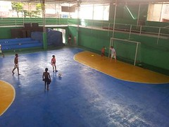 boxing ring(0.0), swimming pool(0.0), ice rink(0.0), sport venue(1.0), leisure centre(1.0), sports(1.0), ball game(1.0),