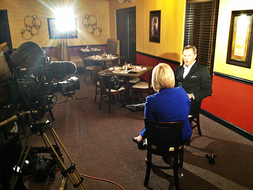 Interview with WNCT-TV 9 in Greenville, North Carolina.