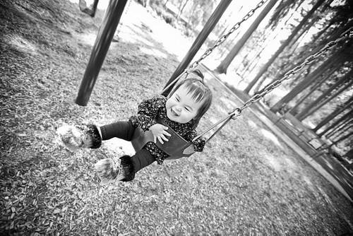 Kaitlyn Laughing Swing