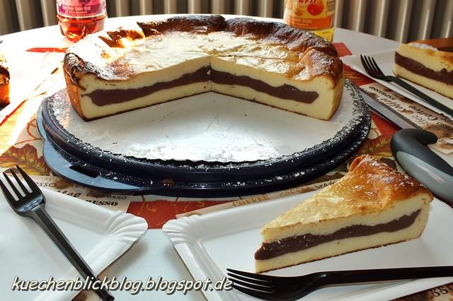 Quark Schoko Kuchen