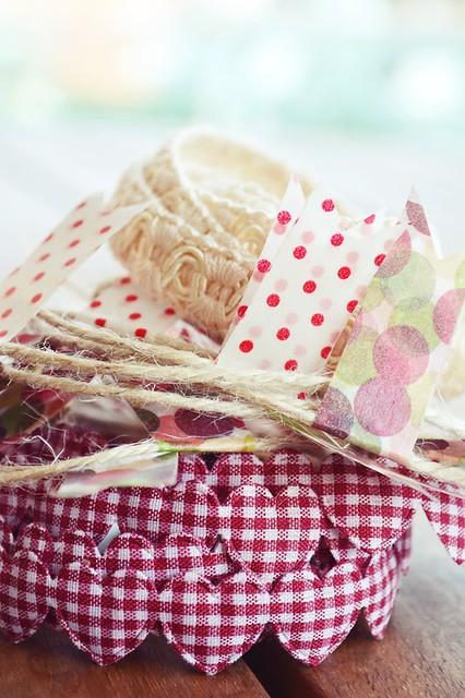 como hacer una guirnalda con washi tape y otros materiales (5)