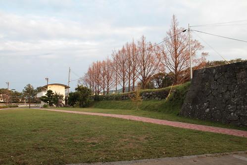 Fukue Castle ruin 福江城跡~