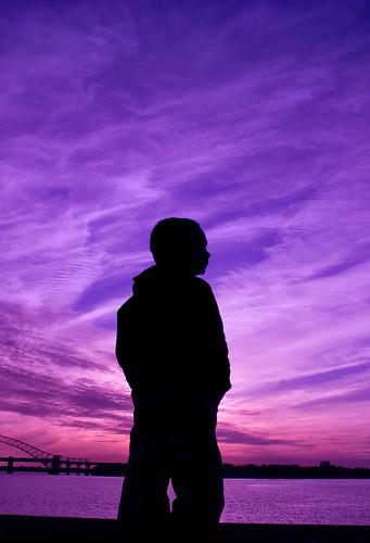 bridge sunset sea sky water silhouette canon handheld mersey runcorn widnes 450d jobaxter2012