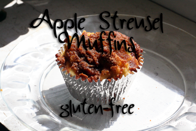 Apple Streusel Muffin (Gluten-Free)