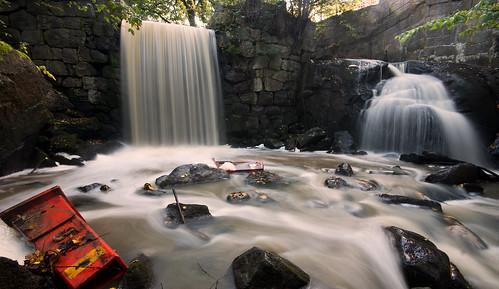 road longexposure fall nature water creek waterfall rocks whitewater stream cone sweden tripod nopeople explore le scandinavia linköping uwa sigma1020mm explored nordics tinnerbäcken sonyalphaslta77 tinnerbäcksravinen
