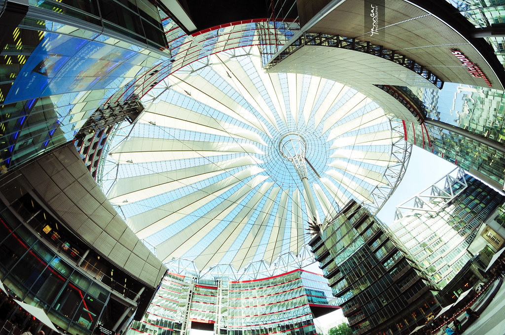 Inside Sony Center Berlin