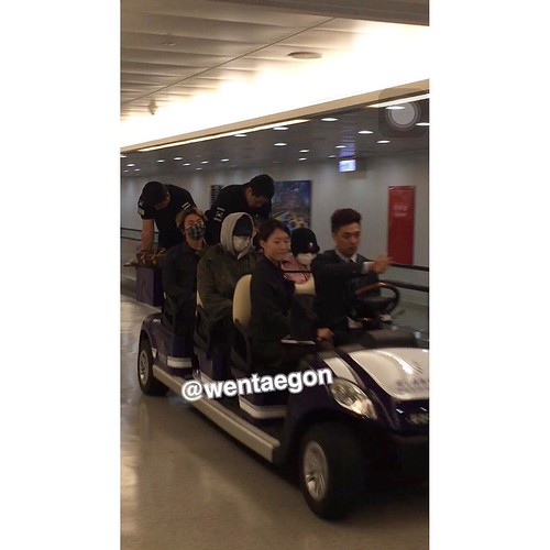 Big Bang - Taiwan Airport - 24sep2015 - wentaegon - 01