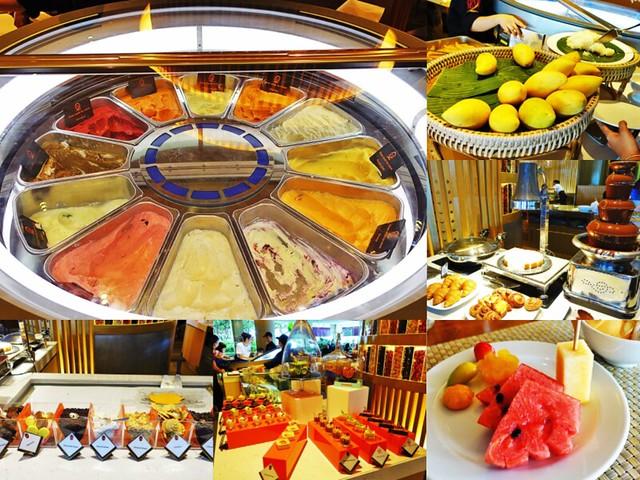 泰國 曼谷香格里拉大飯店 Shangri-La Hotel buffet-6