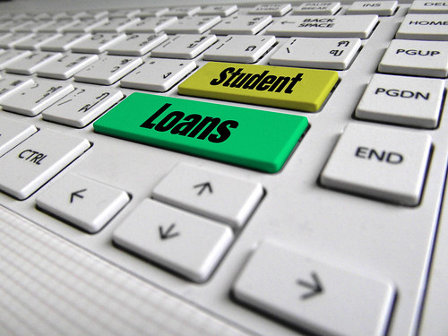 Student Loans Keyboard Button