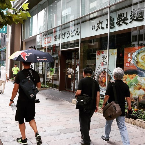 丸亀製麺通過しました。 #丸亀製麺試食部 #RedBull #photowalk