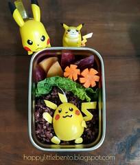 Pikachu Bento!