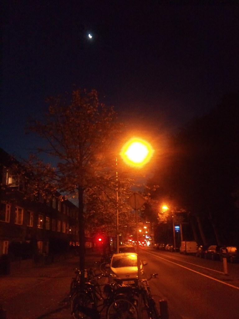 Sikkelmaan boven vroege straatweg