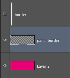 Creating a Flexible Comic Strip panel template layout in Photoshop