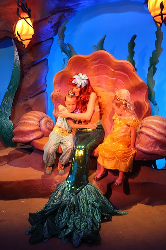 Ariel's Grotto in New Fantasyland