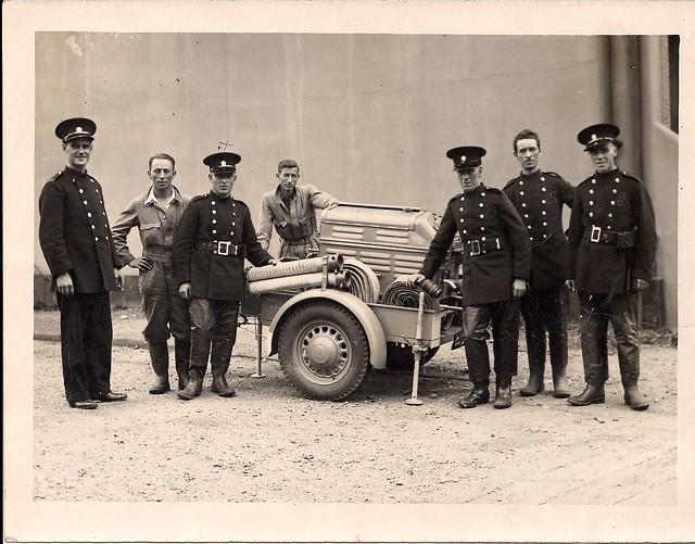 Auxiliary Fire Service WW2