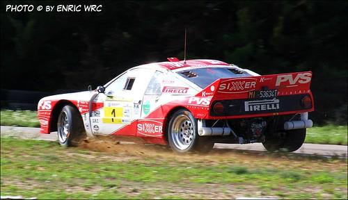 """Rally Costa Brava 2012-""""Pedro""""-Marco Verdelli (Lancia 037)"""