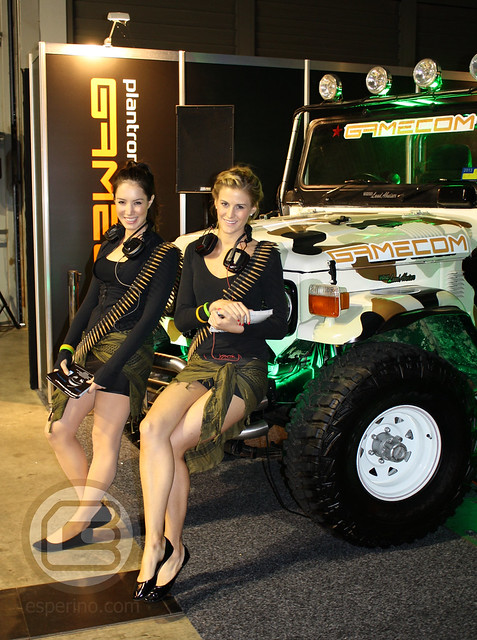 EB Expo 2012 Gamecom Booth Babes