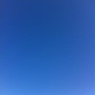 どこまでも快晴 #sky